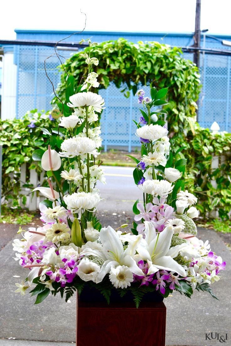 59 best sympathy flower arrangements images on pinterest for Lucernari di hawaii llc