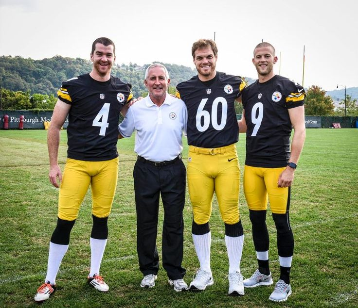 Jordan Berry, Danny Smith, Greg Warren, and Chris Boswell