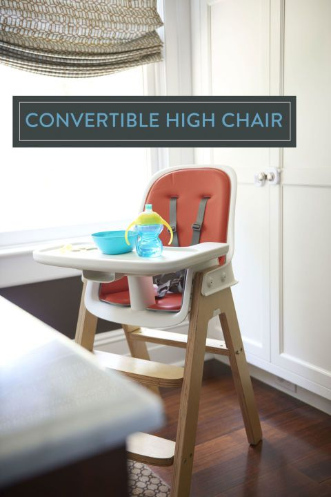 Look for a sturdy styled high chair that won't clash with your décor,