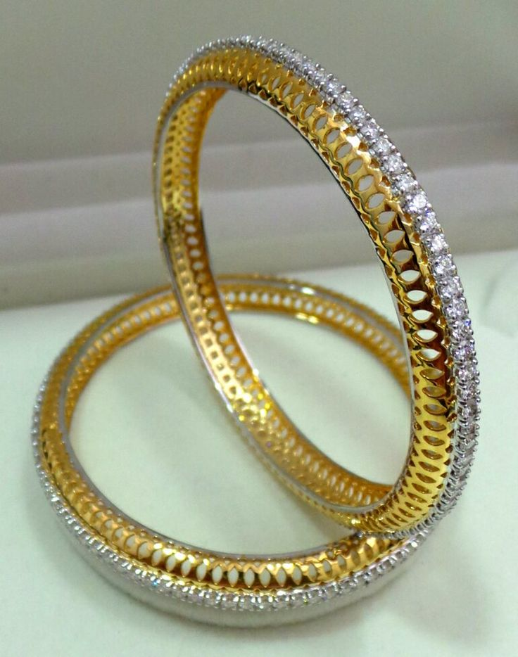 bangles set ring channel eternity gold rings bangle diamond