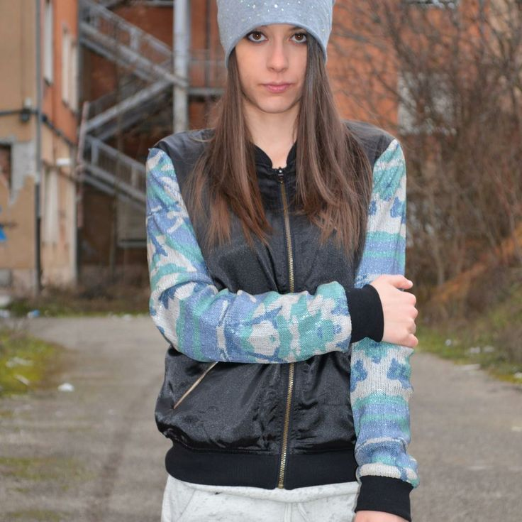 #jacket #camouflage Prophetic worn by #fashionblogger Greta Massimi | PashionVictim