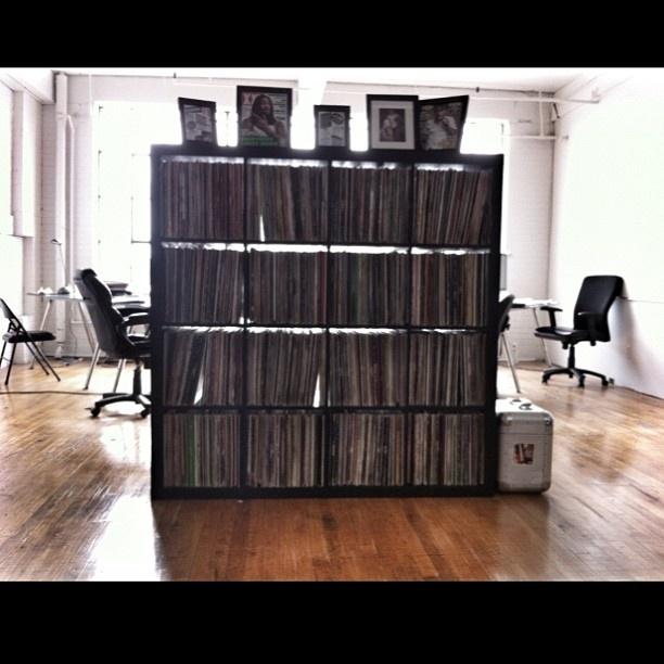 Studio Shot.  Vinyls, street art and HipHop.    Ovrgrnd.ca