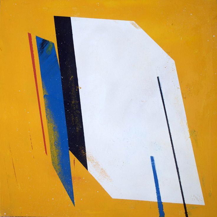 Moreau - 2011  Spray paint on canvas  40cm x 40cm    Private collection