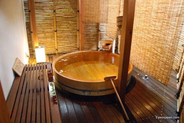 Japanese  style  wooden  spa  bath  #interior  #design