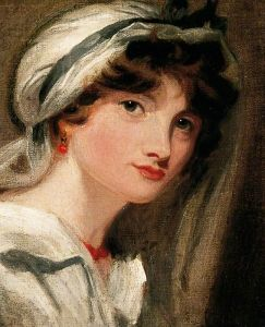 Lady Templeton's Daughter (after Thomas Lawrence)  - William Etty - (English: 1787 - 1849)