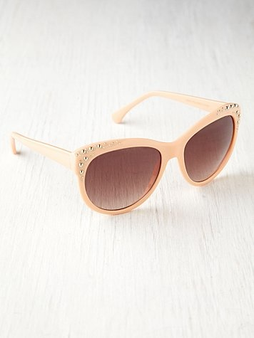 S Cat Eye Sunglasses