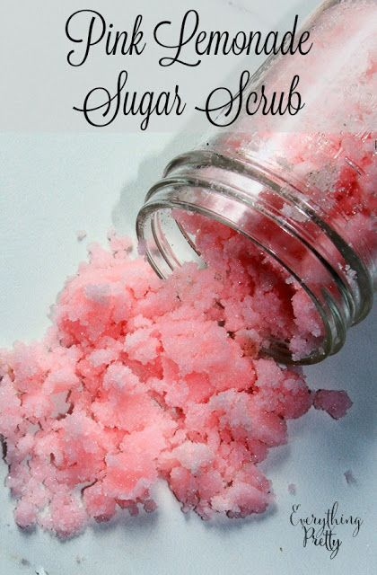Pink sugar lemonade recipe made with melt and pour soap to cleanse and moisturize the skin.  via www.yourbeautyblog.com