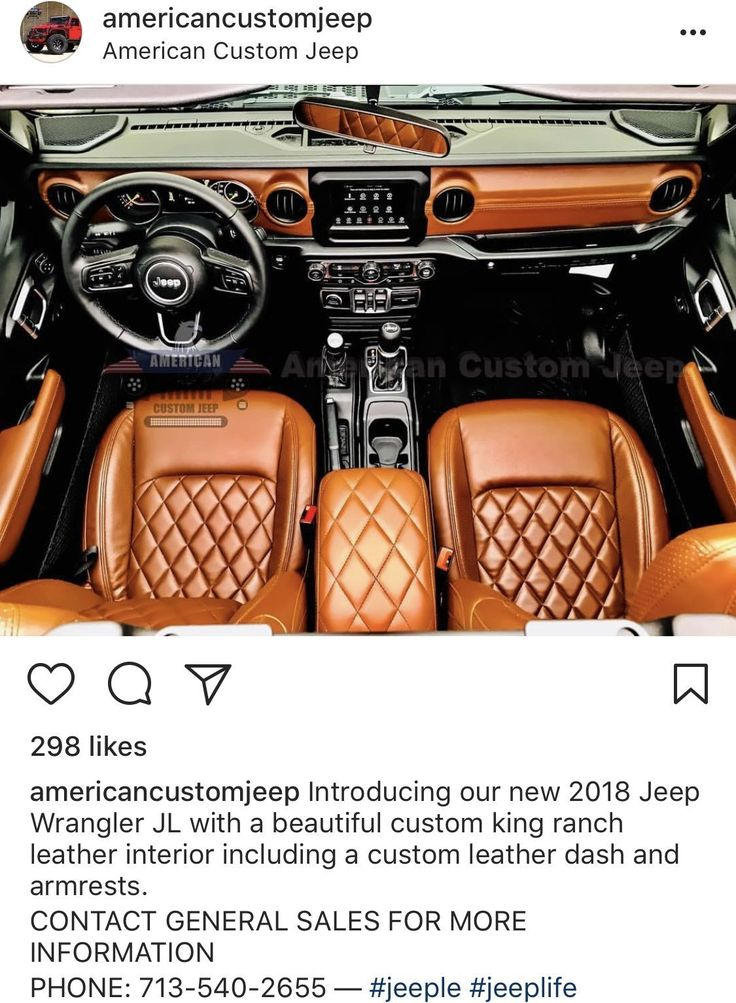 For all you who cried over the red dash.. 2018+ Jeep