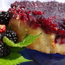 Blackberry Upside Down Cake - Allrecipes.com