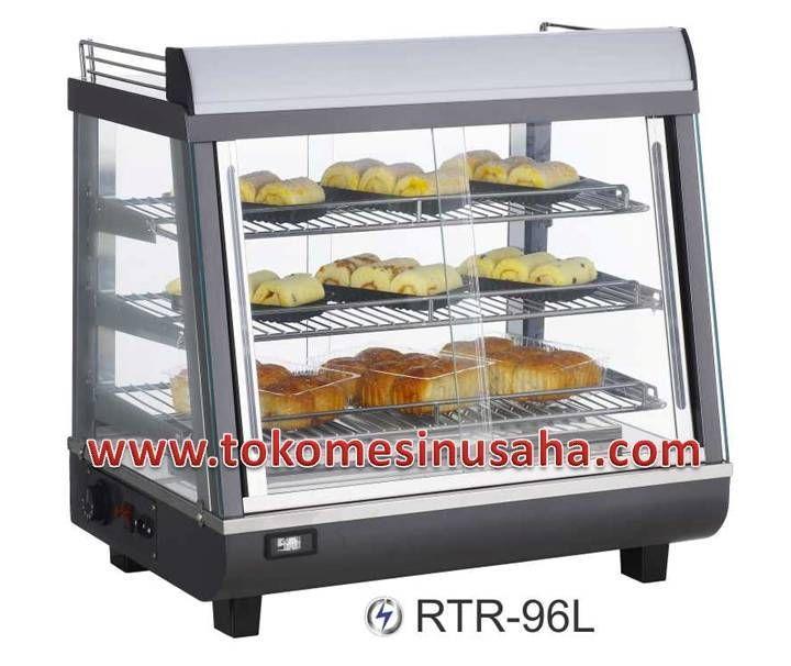 Food Warmer adalah rak yang didesign khusus untuk menghangatkan makanan siap saji, seperti pizza, bakmi, aneka lauk dan sayur. Type : RTR-96L Dimensi : 67,4 x 48,4 x 66,8 cm Volume : 96 L Power : 1500 W Temperatur : 30 - 70° C Berat : 33,5 Kg