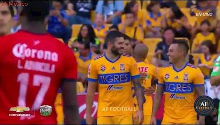 Tigres vs Lobos BUAP 3-2 Resumen y Goles Jornada 7 Apertura 2017 LIGA MX HD