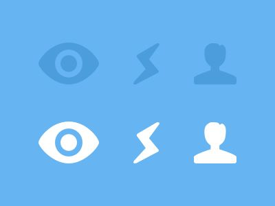 Navigation Icons by Bobby Giangeruso for Helping Develop
