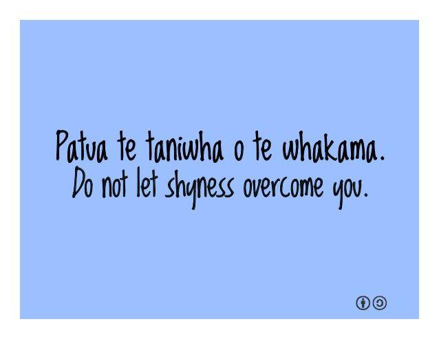 Māori Proverbs
