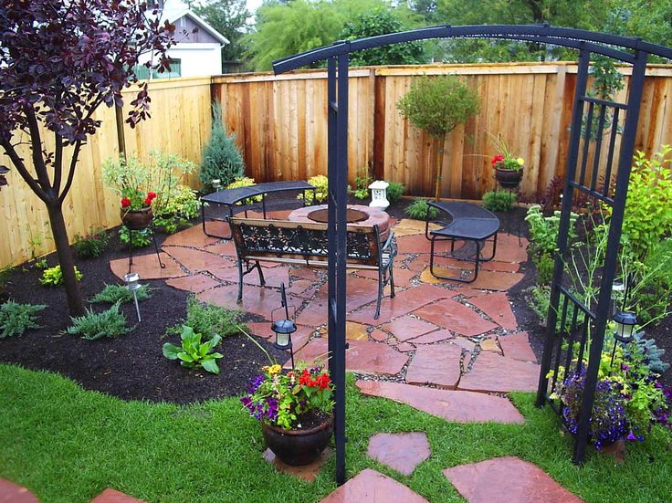 1000 ideas about small yard design on pinterest yard for Landscaping ideas for small areas