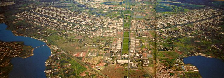 Brasília nasceu como parte de uma agenda política de descentralização do país, impulsionando o desenvolvimento para o oeste. O Plano Piloto de Brasília, no Distrito Federal, foi produto de um concu…