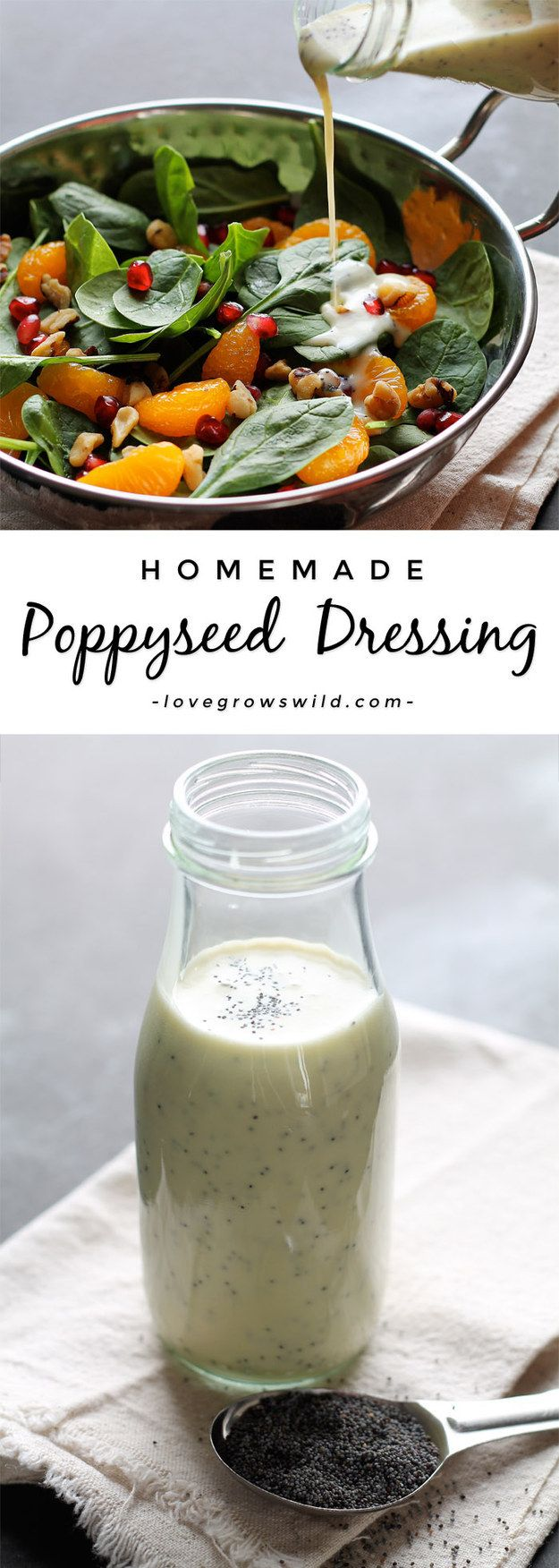 Poppyseed Dressing + 18 Healthy Homemade Salad Dressing Recipes!