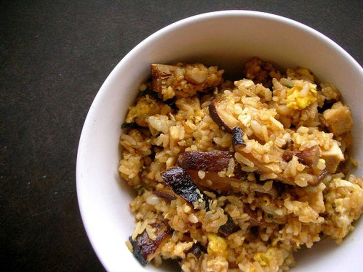 Mushroom Fried Rice.