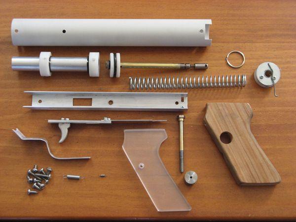 Image detail for -Building A Better NERF Gun. DIY Aluminum NERF Gun Instructions.