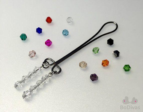 Clit Clip  Custom Crystal Colors  Non Piercing Clitoris by BoDivas #clitclip #labiajewelry #clitoris