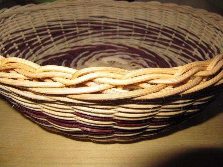 Необычная загибка. Плетение из газетных трубочек
