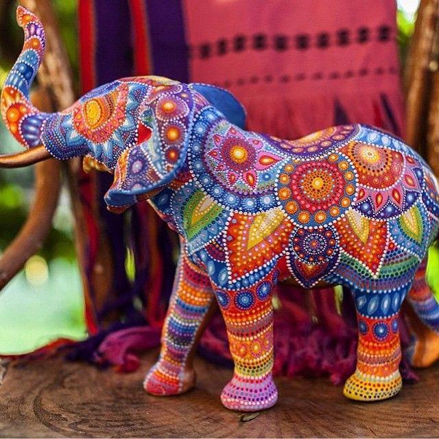 Love will draw an elephant through a key-hole. By: @salty_hippie