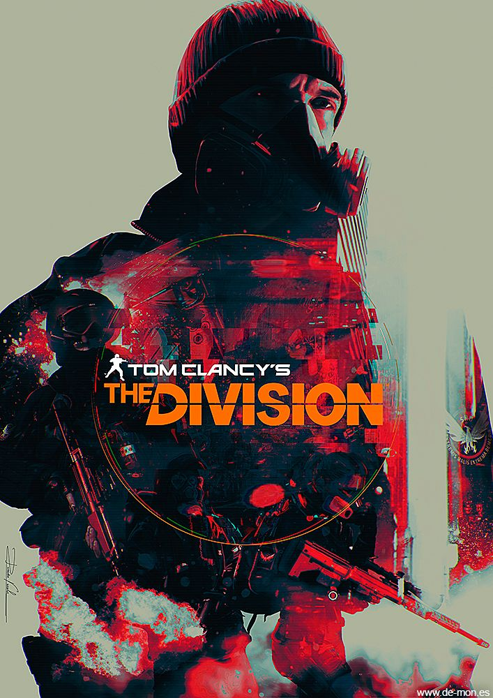 The Division fan art @TheDivisionGame by De-monVarela