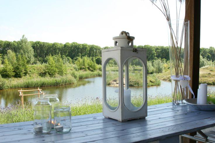 Uitzicht vanaf het Mediterraans terras. Bruiloften/Recepties/Feesten
