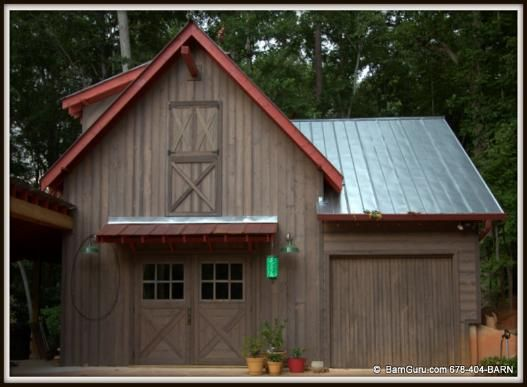 accessory building in marietta ga built to look like a horse barn barn