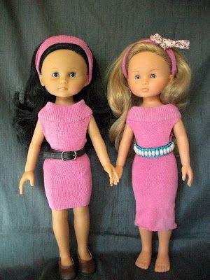 les bricolages de Capizoze: Tutoriel pour robe de poupée