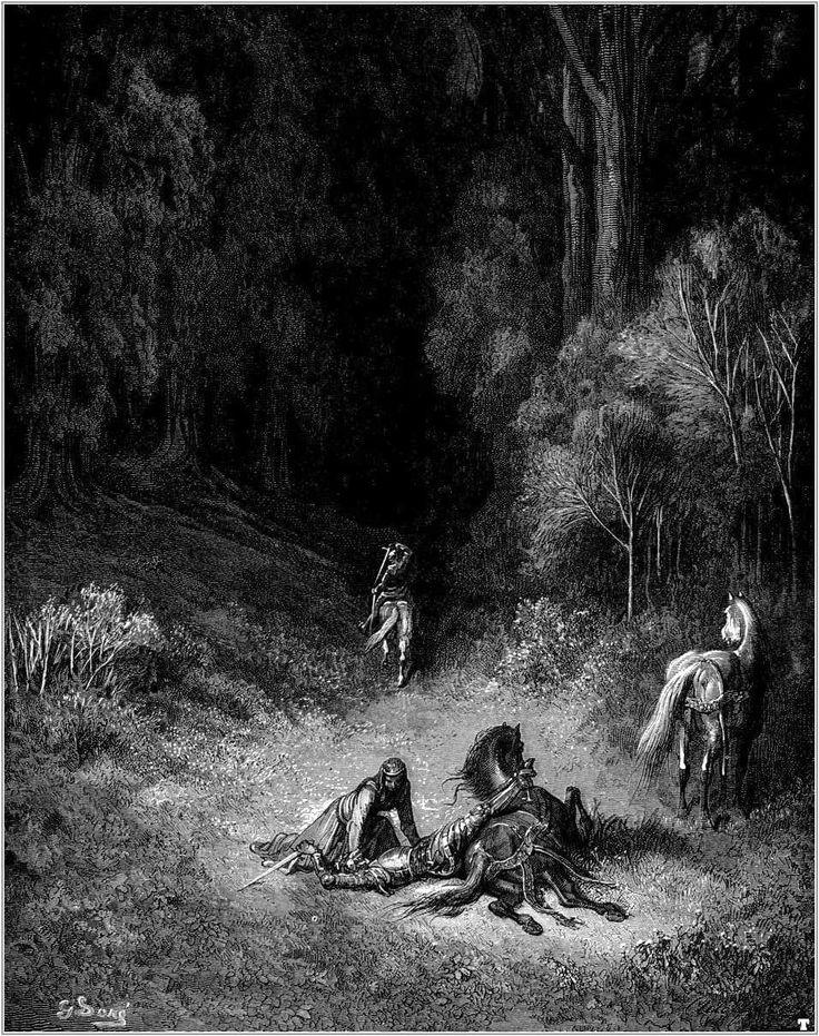 Illustrations to Orlando Furioso