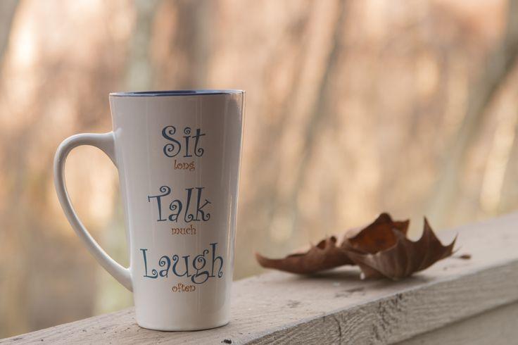 Sit , Talk , Laugh