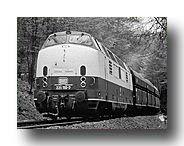 Baureihe 221 Lokomotiveinsatz auf der Angertalbahn
