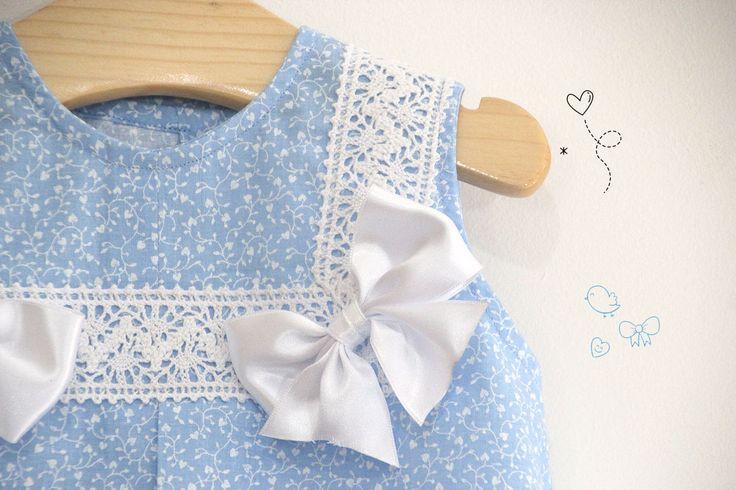 DIY Costura: Como hacer vestido para niñas con lazos (patrones gratis) | | Oh, Mother Mine DIY!!