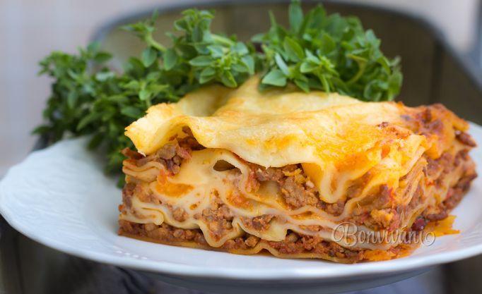 Lasagne s mletým mäsom • recept • bonvivani.sk