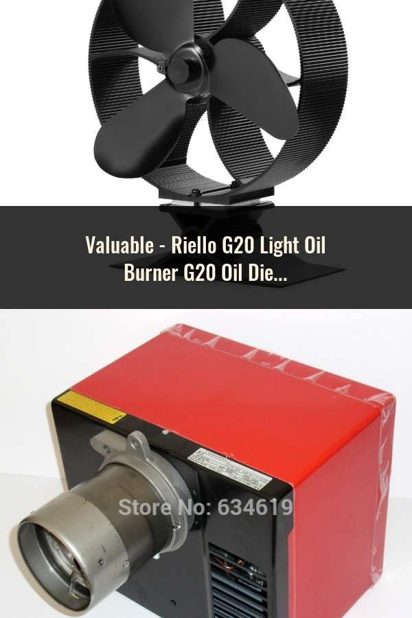 Riello G20 Light Oil Burner G20 Oil Diesel Burner 40 G20 Buner use