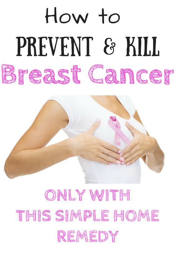 How to prevent and kill breast cancer with flex seeds home remedy!