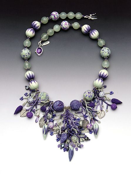 Pat Bolgar | Polymer clay necklace