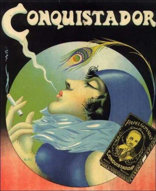 Cigar advertising, Portugal, 1930s