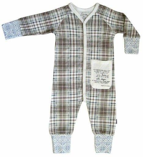 """Lilleba barneklær i bambus Tuva pysjamas """"Trivelig"""""""