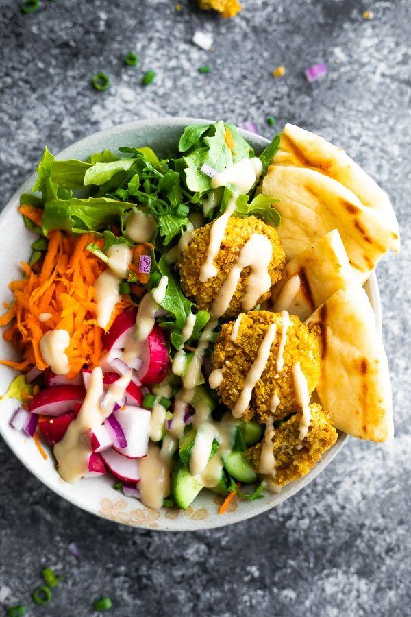 Falafel Salad Bowls Meal Prep