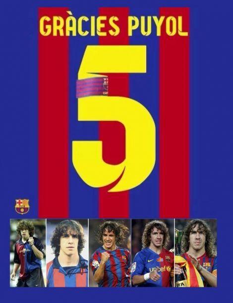 Carles Puyol   Gracias