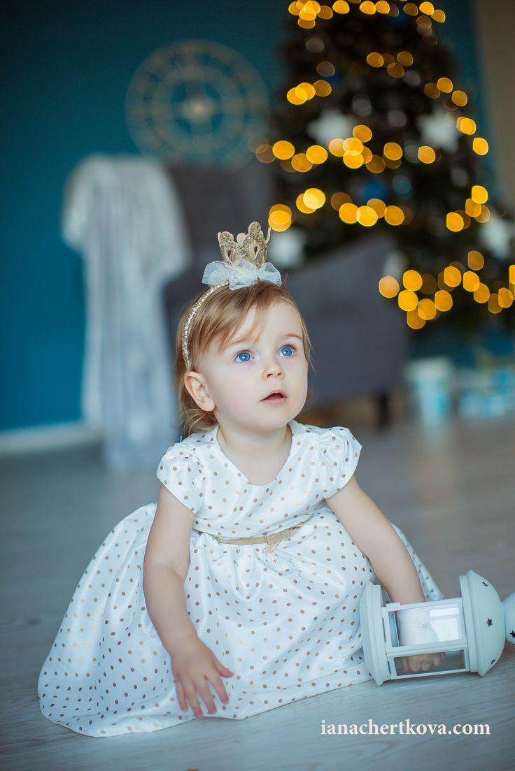 New Year photo little girl