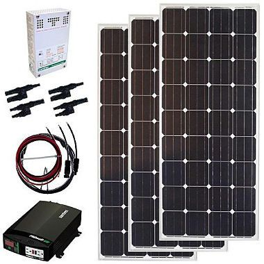 The Grape Solar 480-Watt Off-Grid Solar Panel Kit