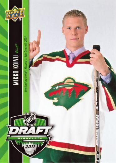 mikko koivu hockey cards   Upper+deck+hockey+cards+2011
