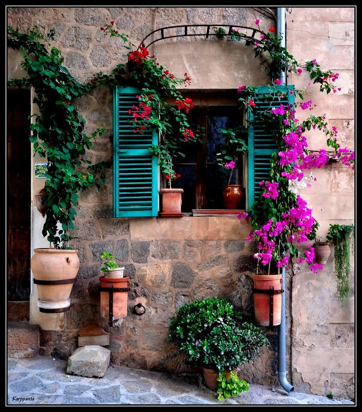 Window, Valldemossa - Mallorca