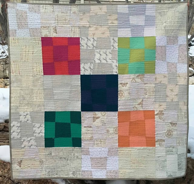 Buttons and Butterflies: Naughty Nines {Quilt}