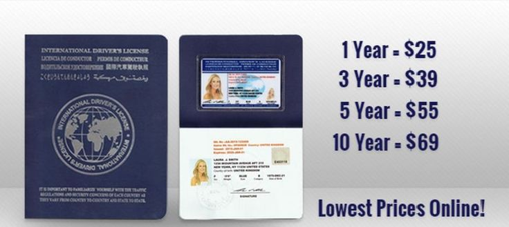 International Drivers License From Idl Travel Lowest Prices