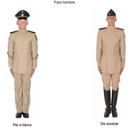 Uniforme de doble botonadura de cadetes del Heroico ...