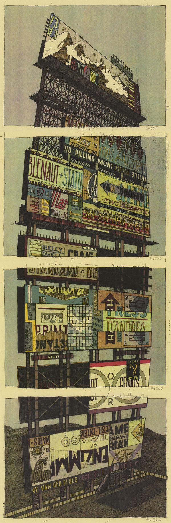 D d poster design - Incredible Gig Poster By Landland