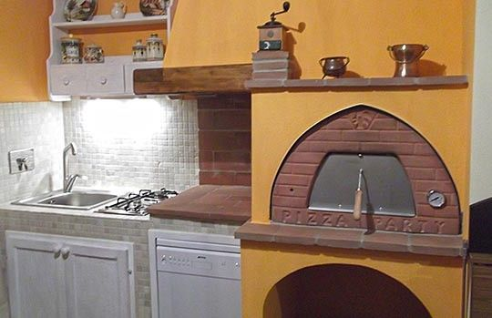 38 best images about wood oven on pinterest ovens wood for Forno a legna in mattoni refrattari